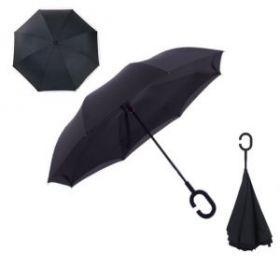 Умный зонт- Цвет-Черный