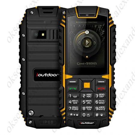 """Мобильный телефон IOUTDOOR T1 IP68 2.4"""" MTK6261A 2100mAh"""