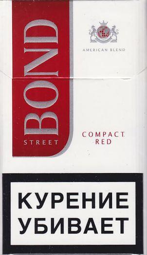 Сигареты Bond Street Compact Red