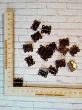 петли металлические для заготовок 20*24 см цена за 2 шт
