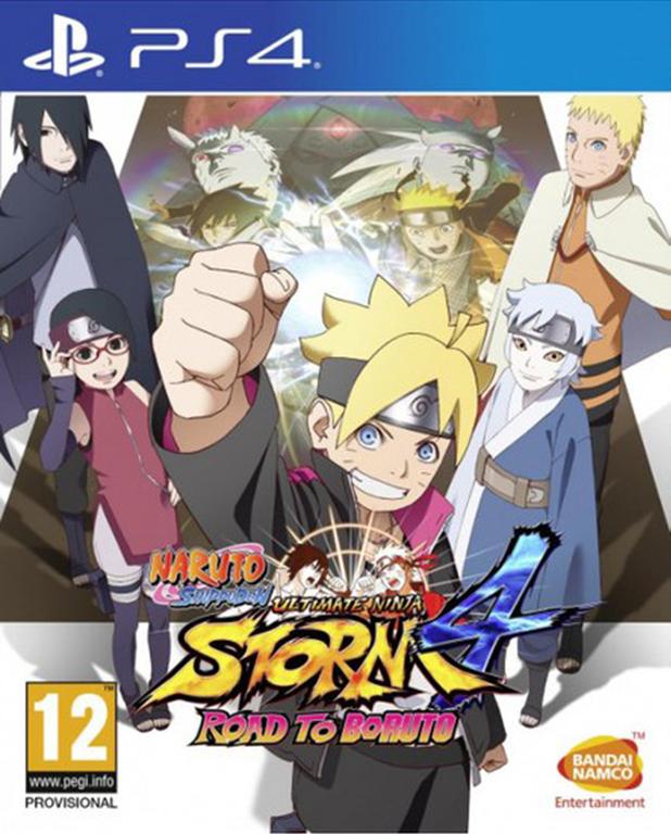 Игра Naruto Shippuden Ultimate Ninja Storm 4 Road to Boruto (PS4)