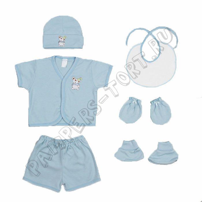 """Набор одежды для новорожденного 6 предметов """"МИШУТКА"""""""