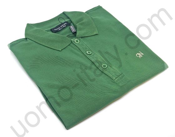 Рубашка-поло  Riserva Nazionale короткий рукав хаки