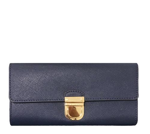 MICHAEL MICHAEL KORS Bridgette Flap Leather Wallet