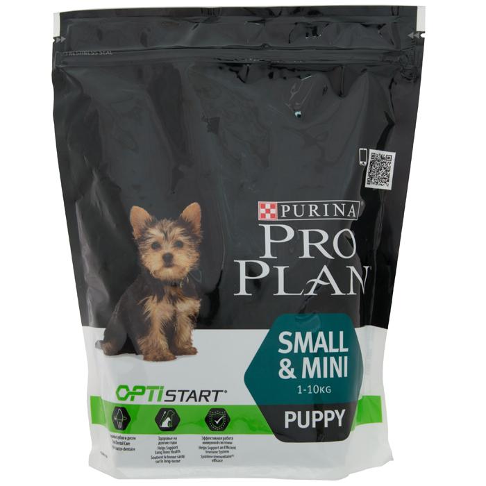 Pro Plan small&mini Puppy OptiHealth Chicken&Rise 0.7 kg/ПроПлан Смол&Мини Паппи ОптиХилс Курица с Рисом 0,7 кг