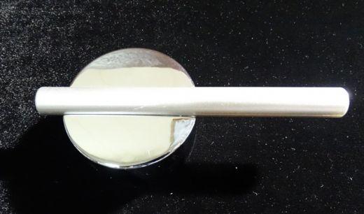 Ручка переключения горхол воды пластик хром круглая