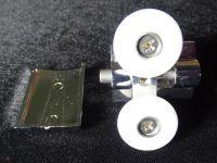 Ролик нижний двойной металл 25мм N5