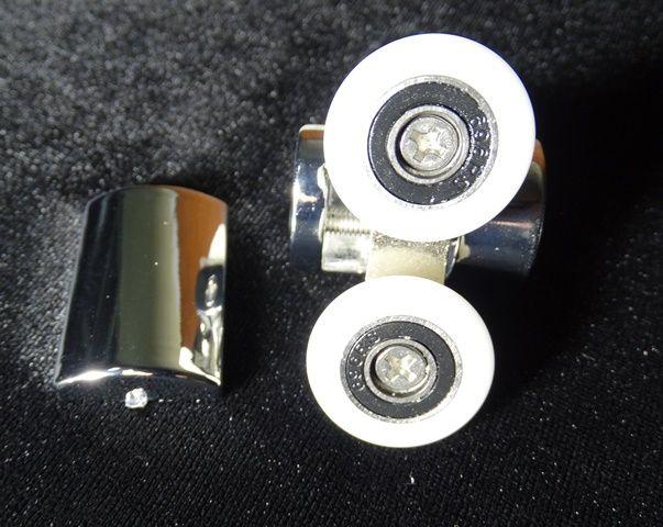 Ролик верхний двойной металл 25мм N7