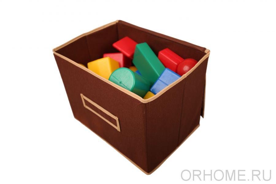 Коробка для хранения с мягкой крышкой