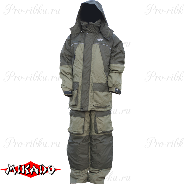Костюм зимний Mikado (полукомбинезон + куртка) размер XXL, шт