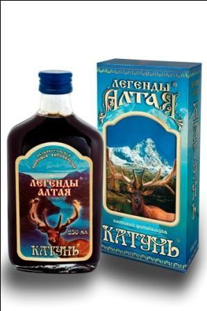 "Легенды Алтая ""КАТУНЬ"" (100 мл.)"