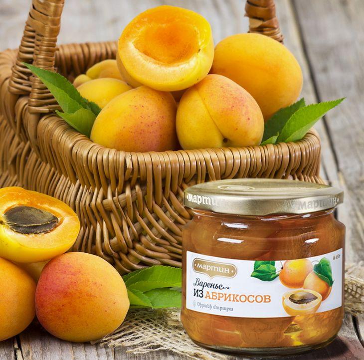 Варенье из абрикосов 450г