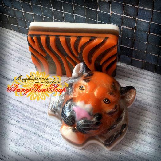 """Набор мыла """"Тигр"""""""