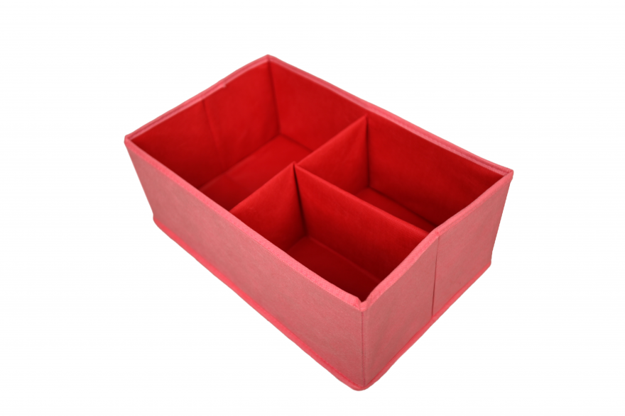 Коробка для хранения 2+1 без крышки