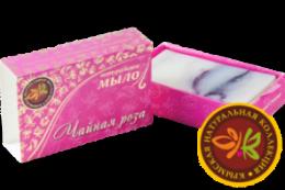 """Натуральное мыло ручной работы """"Чайная роза"""" 75г"""