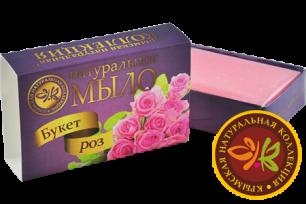 """Натуральное мыло """"Букет роз"""" 75г"""