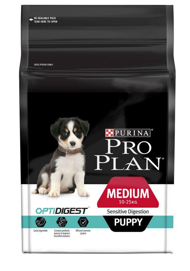 PRO PLAN Puppy Medium Sensitive Digestion Lamb&Rise 1.5kg /Про План для щенков средних пород, с ягненком и рисом 1.5кг
