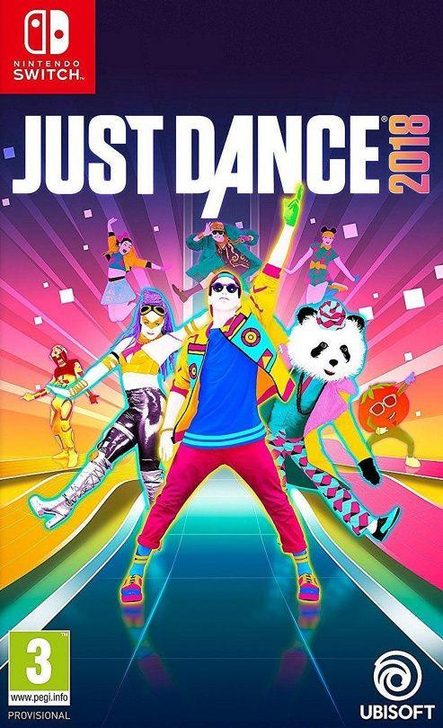 Игра Just Dance 2018 (Nintendo Switch, русская версия)