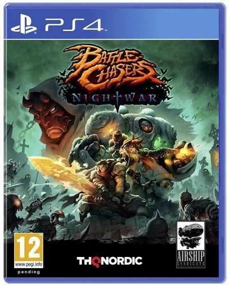 Игра Battle Chasers: Nightwar (PS4, русские субтитры)