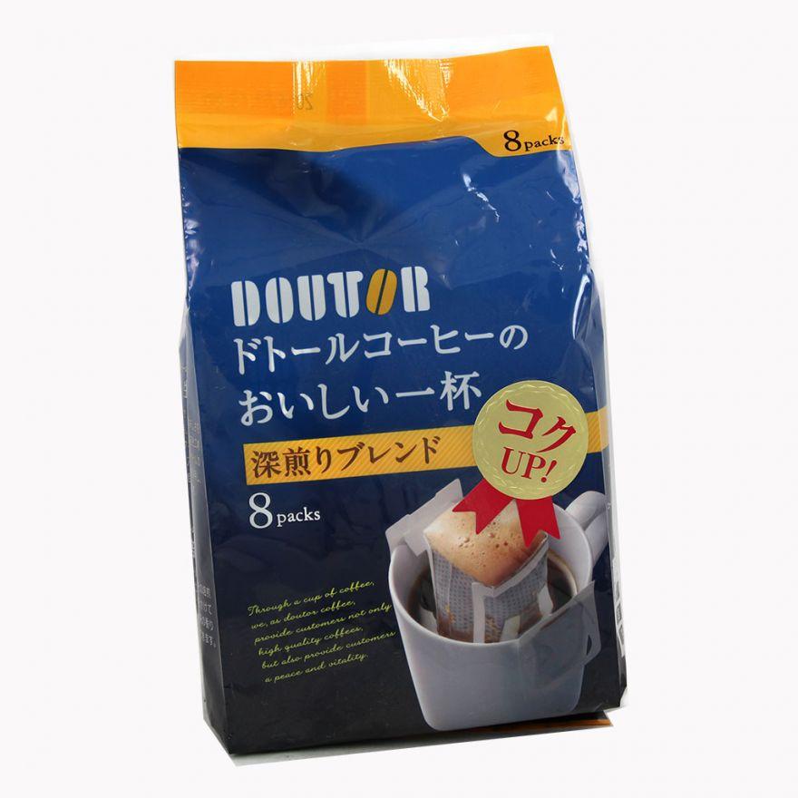 """Кофе молотый глубокой обжарки """"Doutor"""" в фильтр-пакетах, 56 гр"""