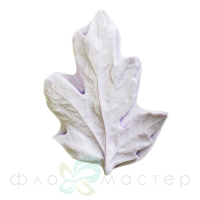 Молд лист хризантемы ассимметричный