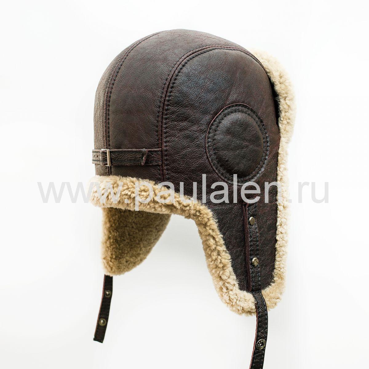 Меховой шлем Авиатор