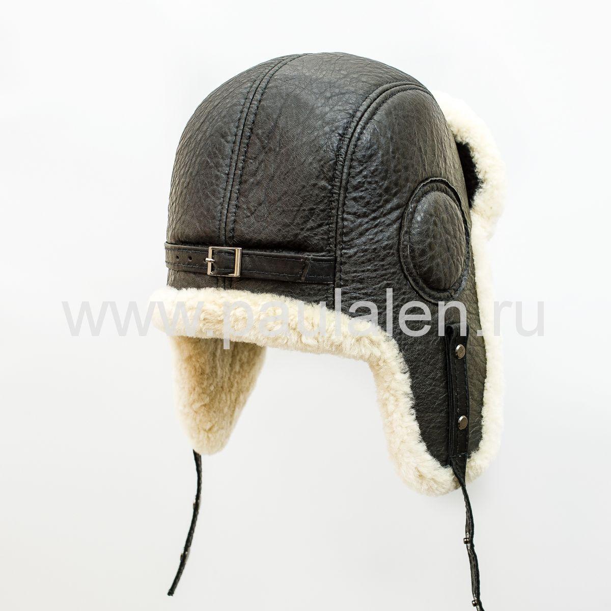Ушанка авиатор шлем мужской