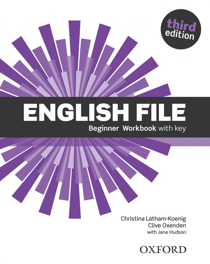 English File 3rd Beginner Workbook with key