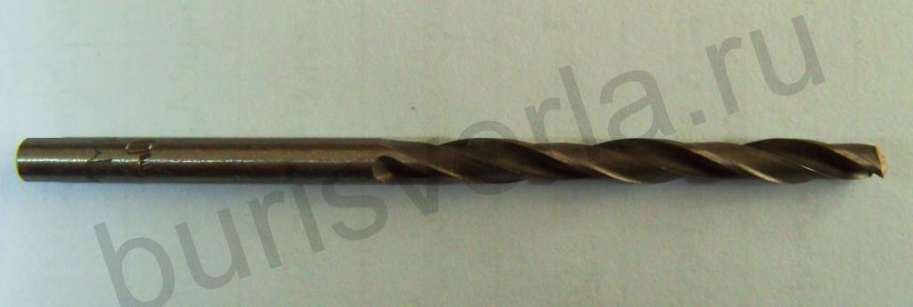 Сверло по металлу 4,5 мм, Р6М5