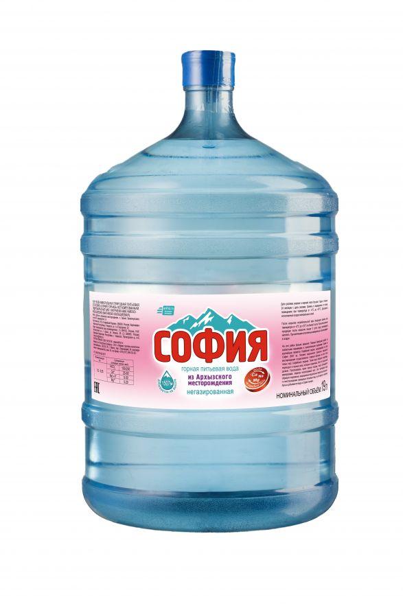 """Вода """"София"""" горная минеральная"""