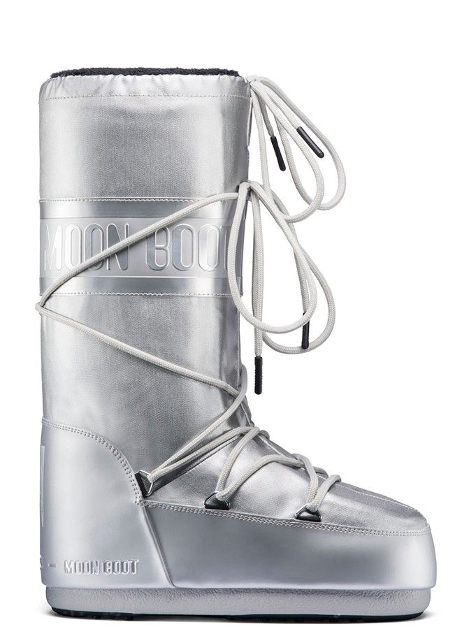 Moon Boot Classic Plus Met Silver / 35-38, 39-41.
