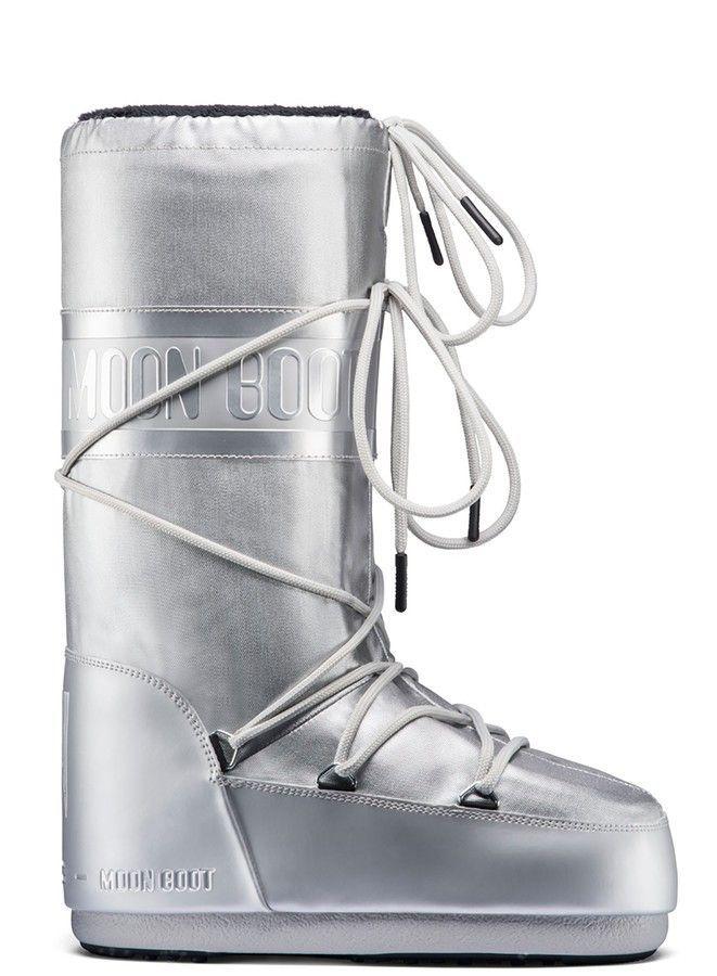Moon Boot Classic Plus Met Silver / 35-38, 39-41.