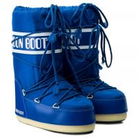 Moon Boot Nylon Electric Blue (детские) / 23-26, 27-30, 31-34, 35-38.
