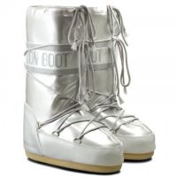 Moon Boot Vinyl Met White Kids / 27-30.
