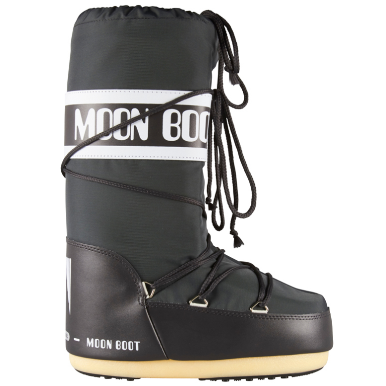 Moon Boot Nylon Anthracite (серые) / 42-44.