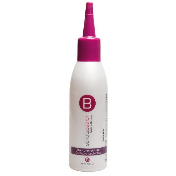 Hiusten kasvulinjaa väriaineelta suojaava hoitoneste
