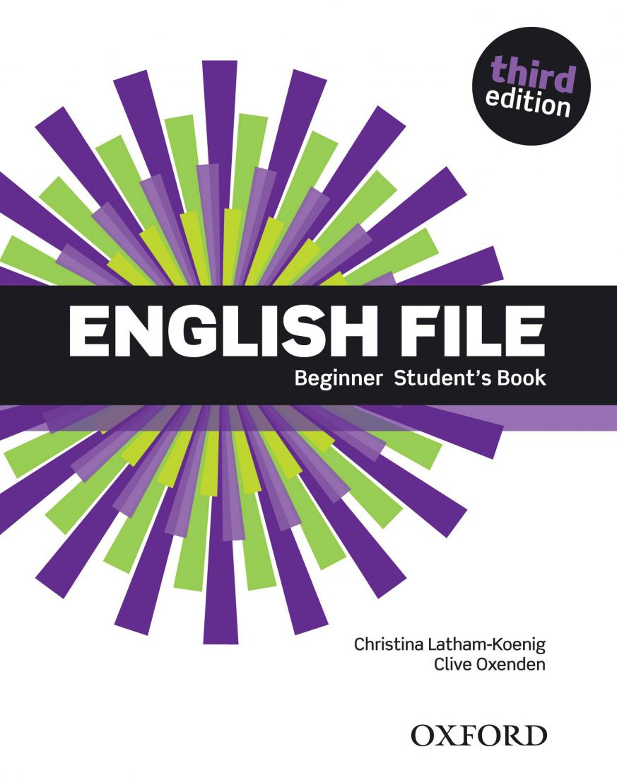 English File 3rd Beginner Student's Book with iTutor DVD-ROM