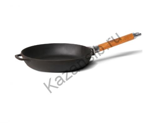 Сковорода чугун 24х4,5