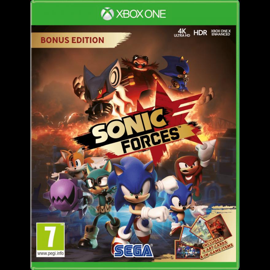 Игра Sonic Forces (Xbox One)