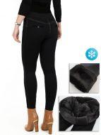 Женские  лосины-брюки с мехом №А309