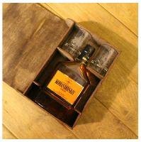 праздничная коробка для бутылки