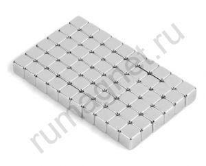 Неодимовый магнит прямоугольник 5x5х5 мм