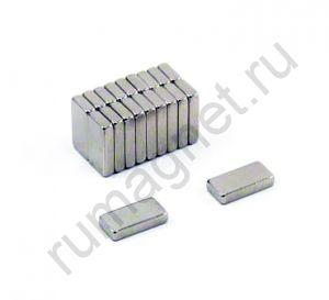 Купить магнит блок 10x5х2 мм