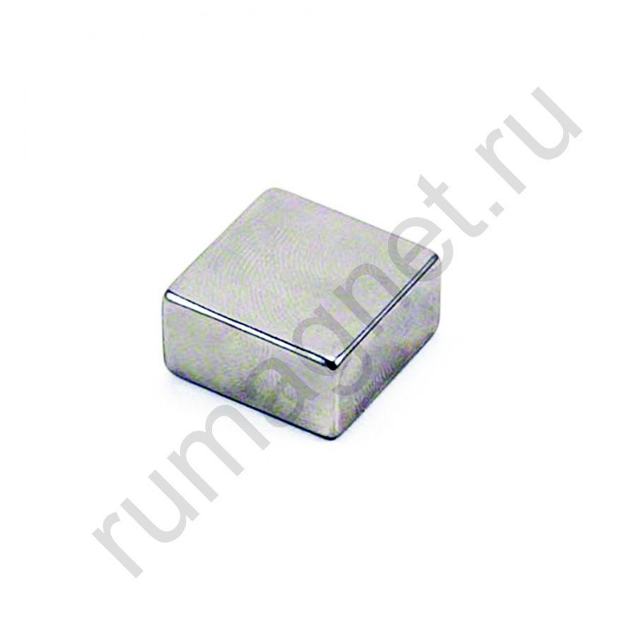 Неодимовый магнит прямоугольник 20x20х10 мм