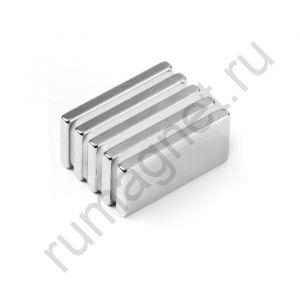Купить неодимовый магнит блок 20x10х2 мм