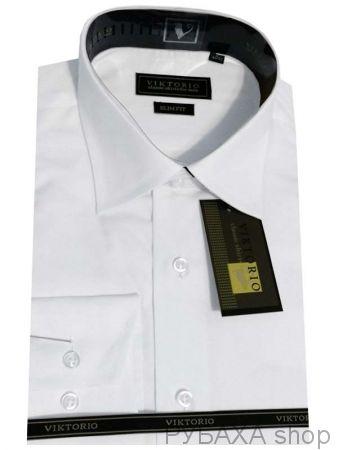 Рубашка большого размера Viktorio JDF-BAI classic 3XL или 4XL. Длинный рукав