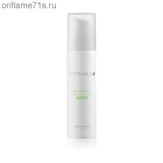 Матирующий дневной крем-флюид для жирной кожи Optimals Hydra