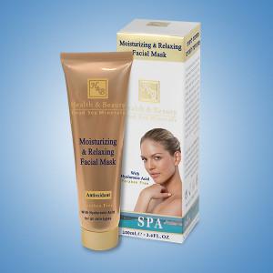Увлажняющая и Расслабляющая маска для лица Health&Beauty (Хелс энд Бьюти) 100 мл