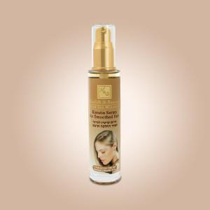 Серум с кератином для волос после выпрямления или укладки Health & Beauty (Хэлс энд Бьюти) 50 мл