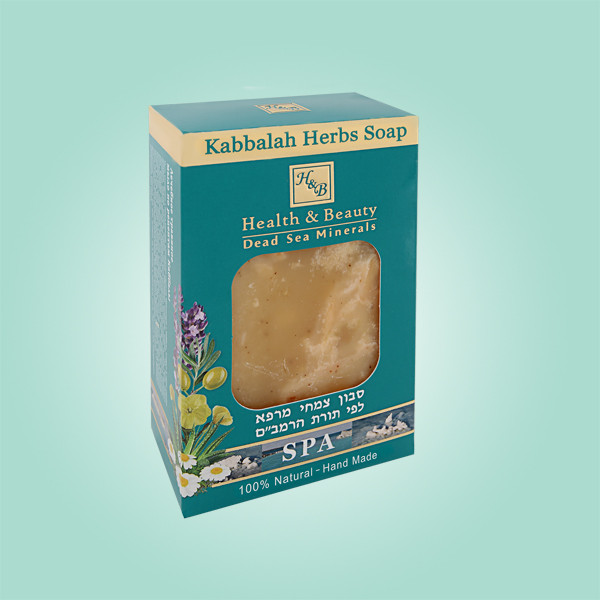 Мыло на основе лекарственных трав по рецептам Каббалы Health & Beauty (Хэлс энд Бьюти) 100 г